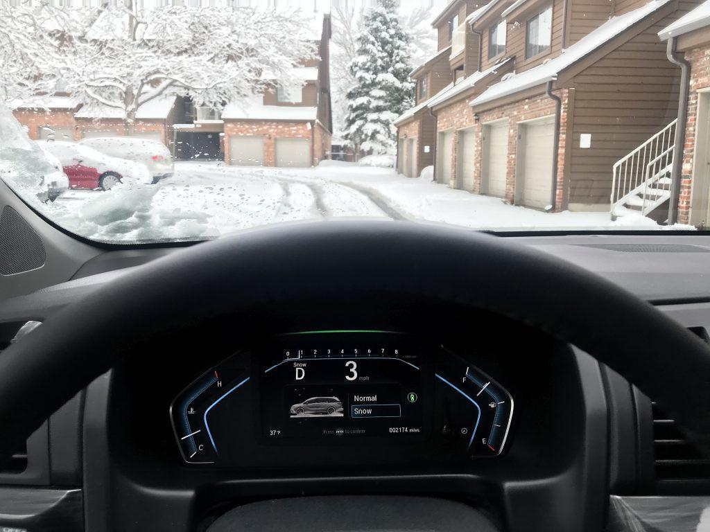 2021 Honda Odyssey Snow mode