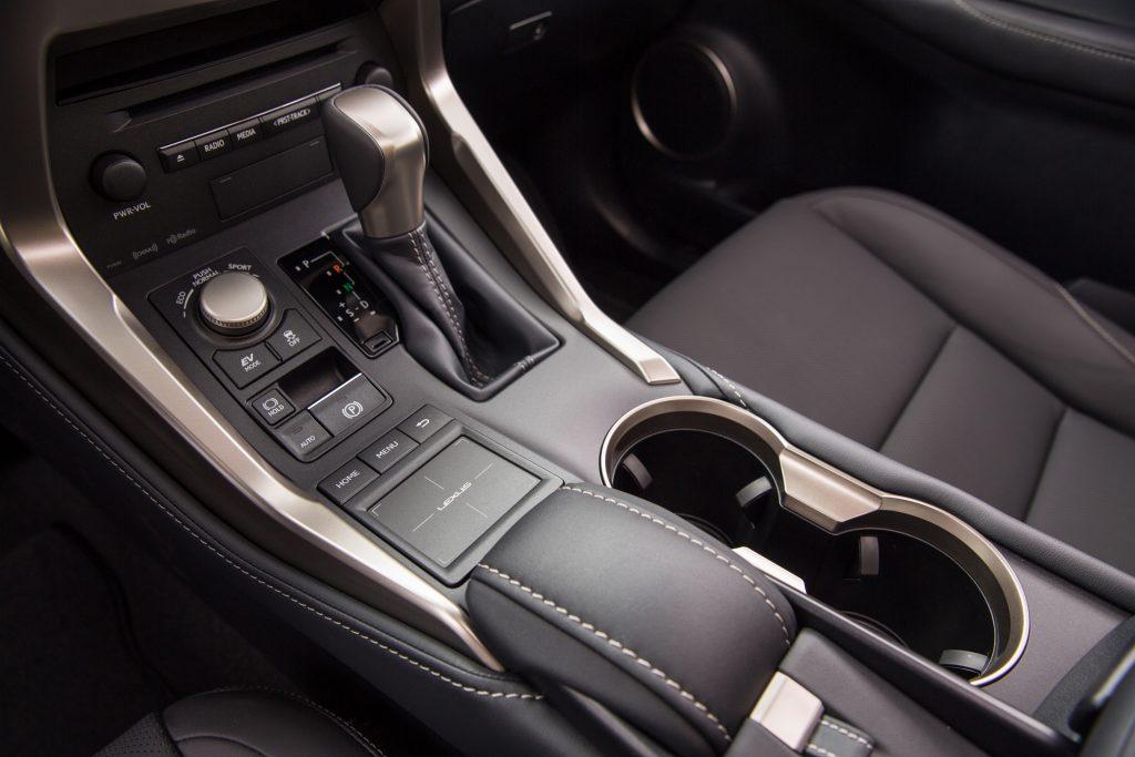 2021 Lexus NX 300h touchpad