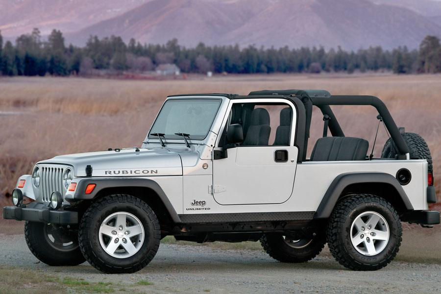 a 2006 model year example of this hardy off-road SUV parked in the desert with the top down. These are generally reliable used vehicles.