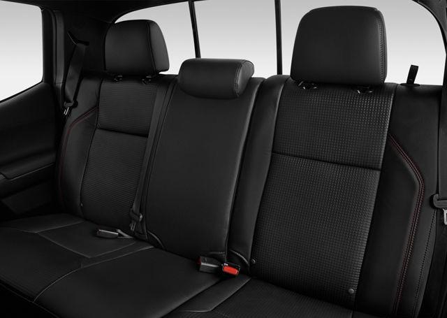 rear seats of the Toyota Tacoma TRD Pro