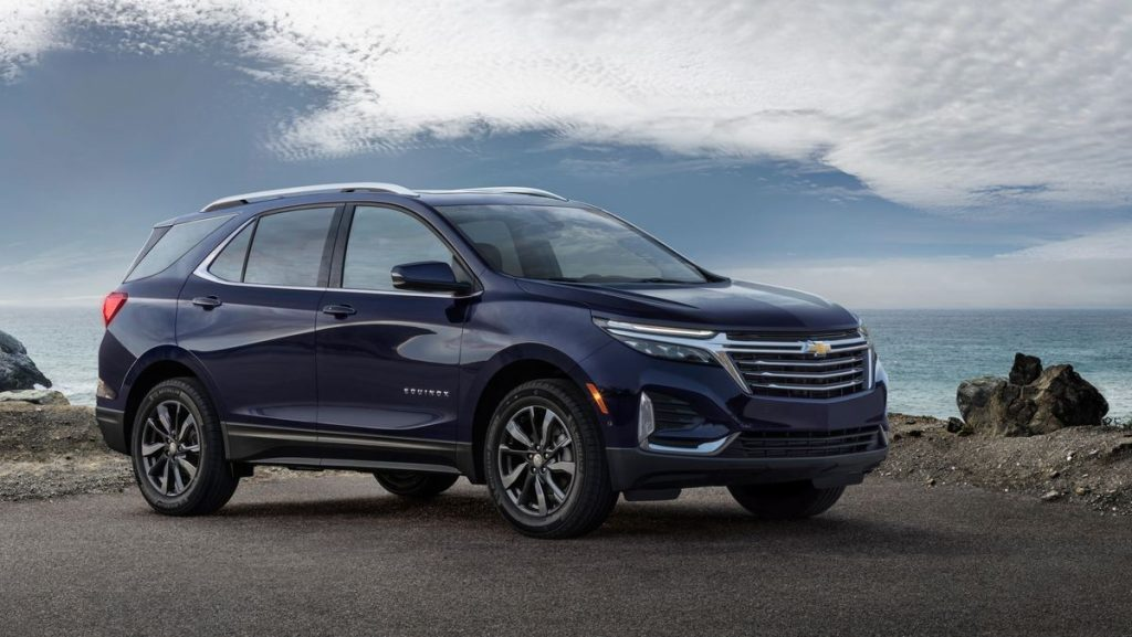 2022 Chevy Equinox parked