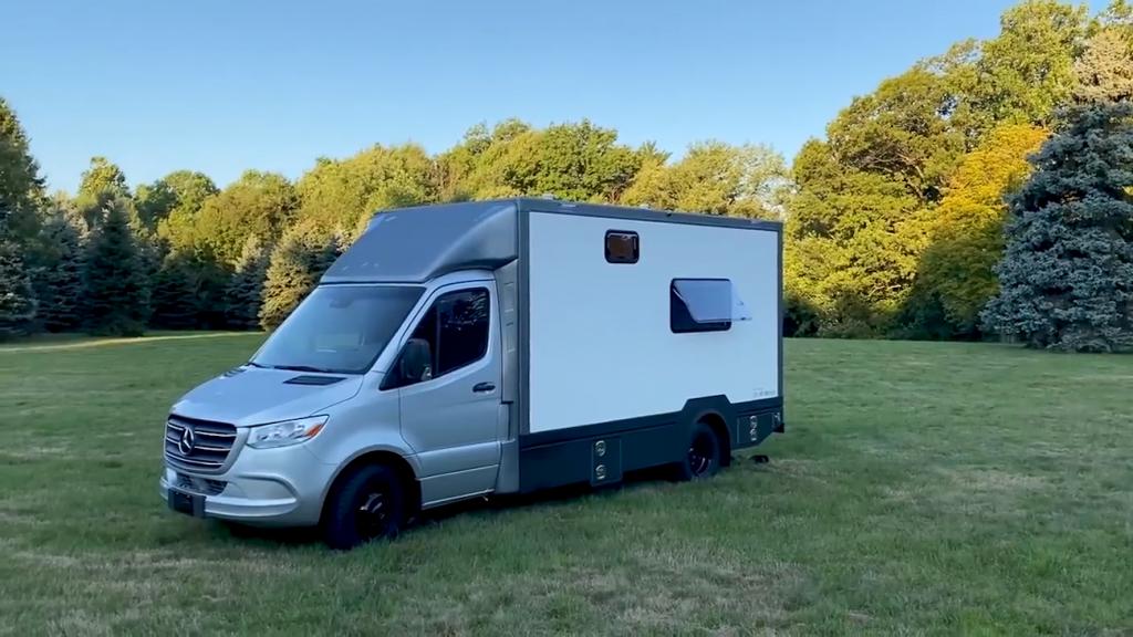 B Box Prototype camper van | Advance RV