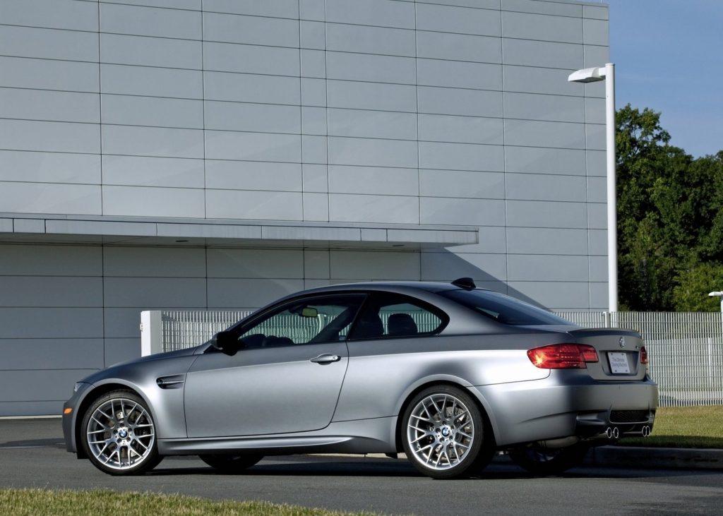2010 BMW M3 rear shot