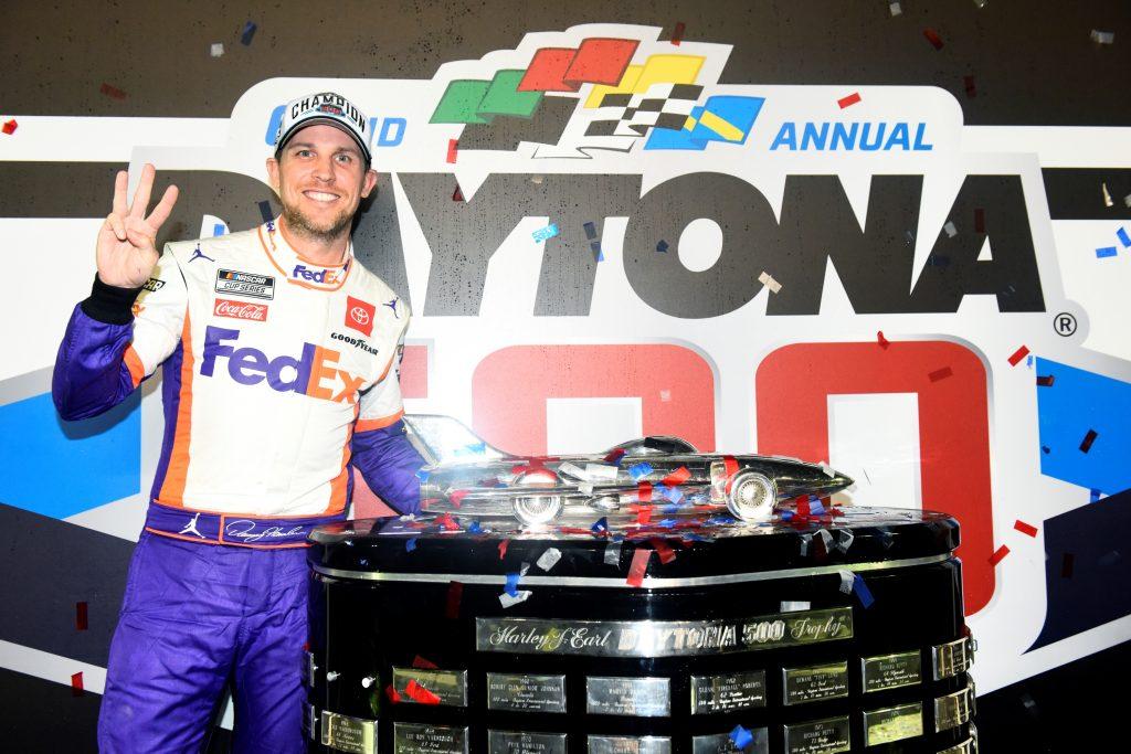 NASCAR Cup Series Daytona 500 winner Denny Hamlin