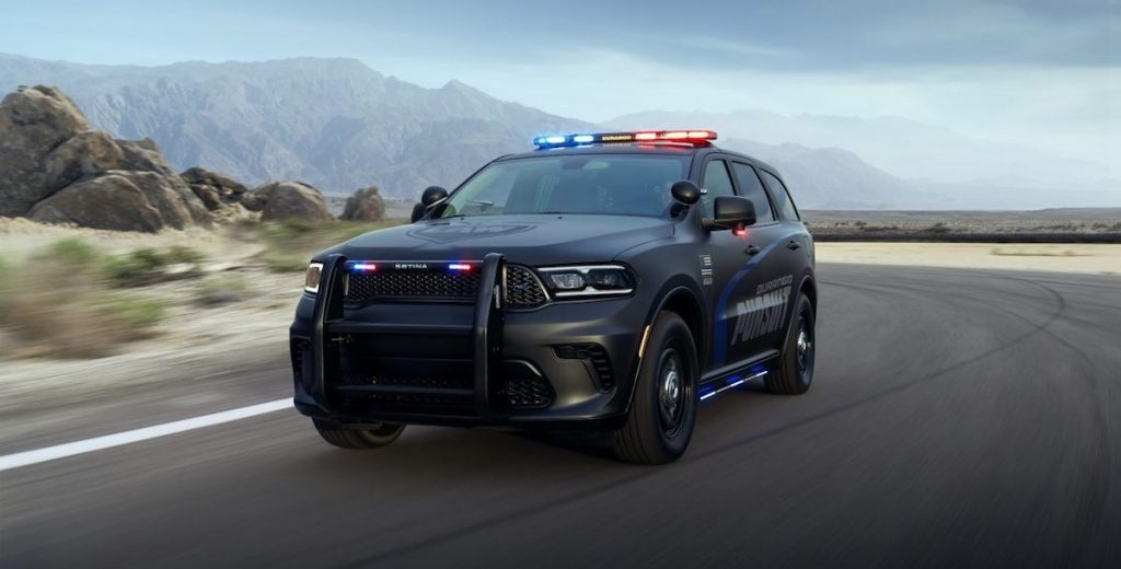 Dodge Durango Pursuit Police SUV