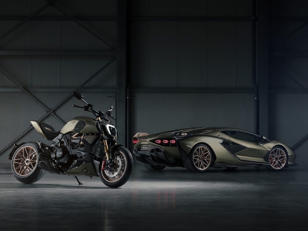 Ducati x Lamborghini tribute