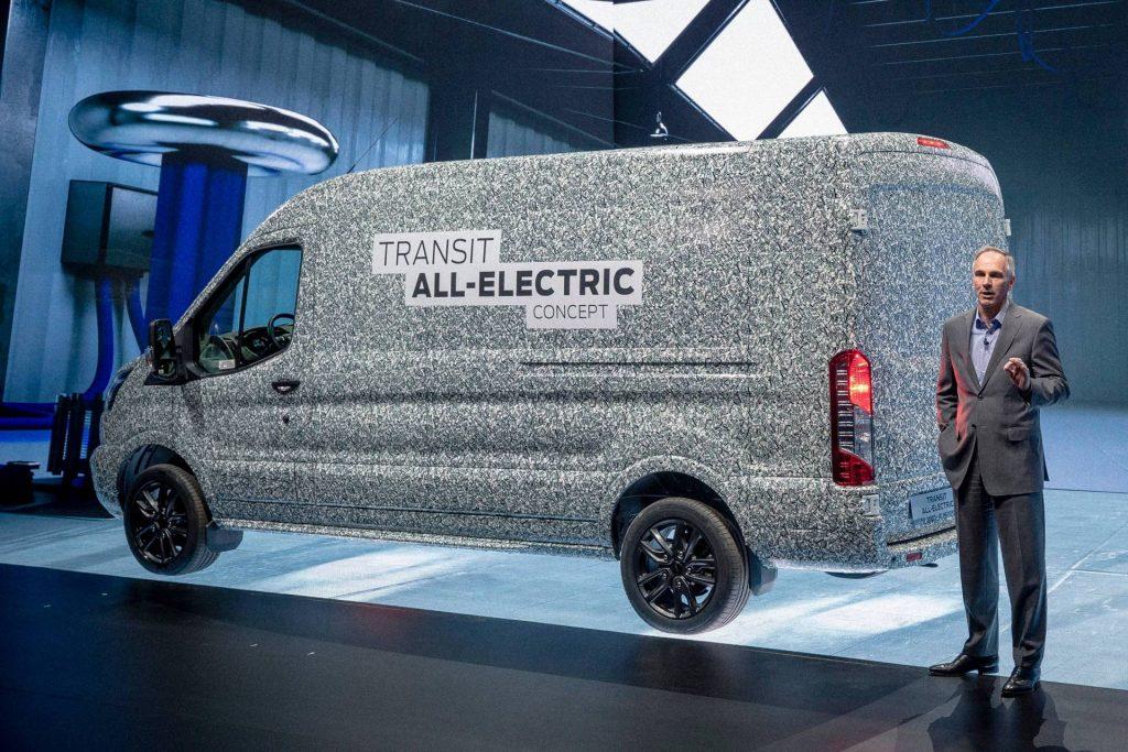 2022 Ford E-Transit Concept