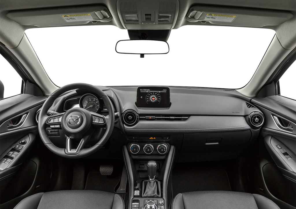 Front seats of the 2019 Mazda CX-3