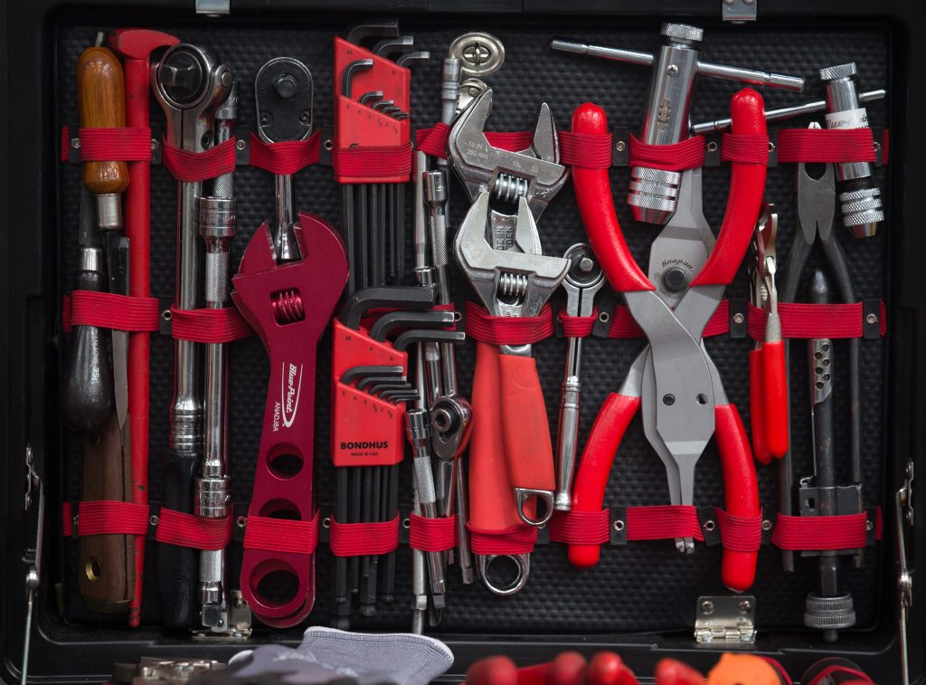 A tool kit of basic maintenance