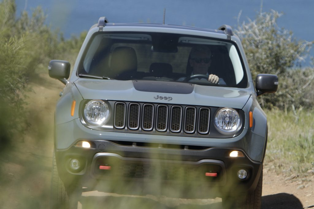 Jeep Renegade Trailhawk on the trails