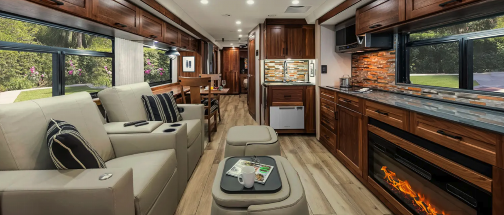 2022 Winnebago Journey cabin