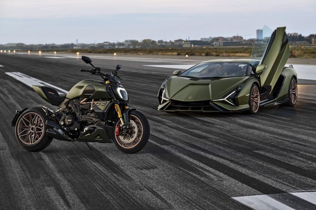Ducati x Lamborghini tribute | Ducati