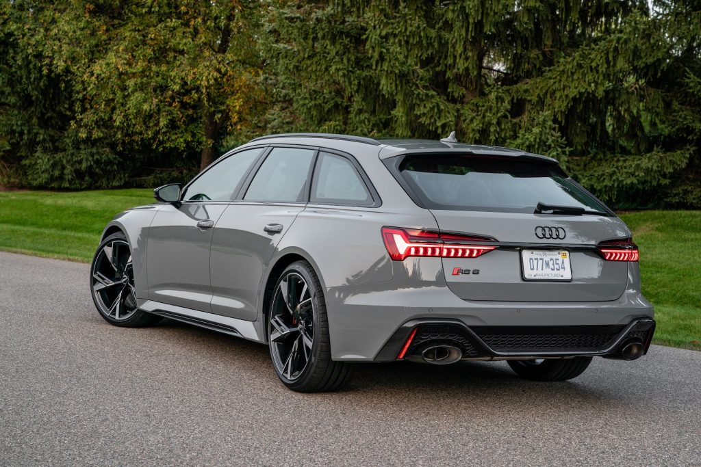 The 2021 Audi RS6 Avant Is Not Your Typical Station Wagon