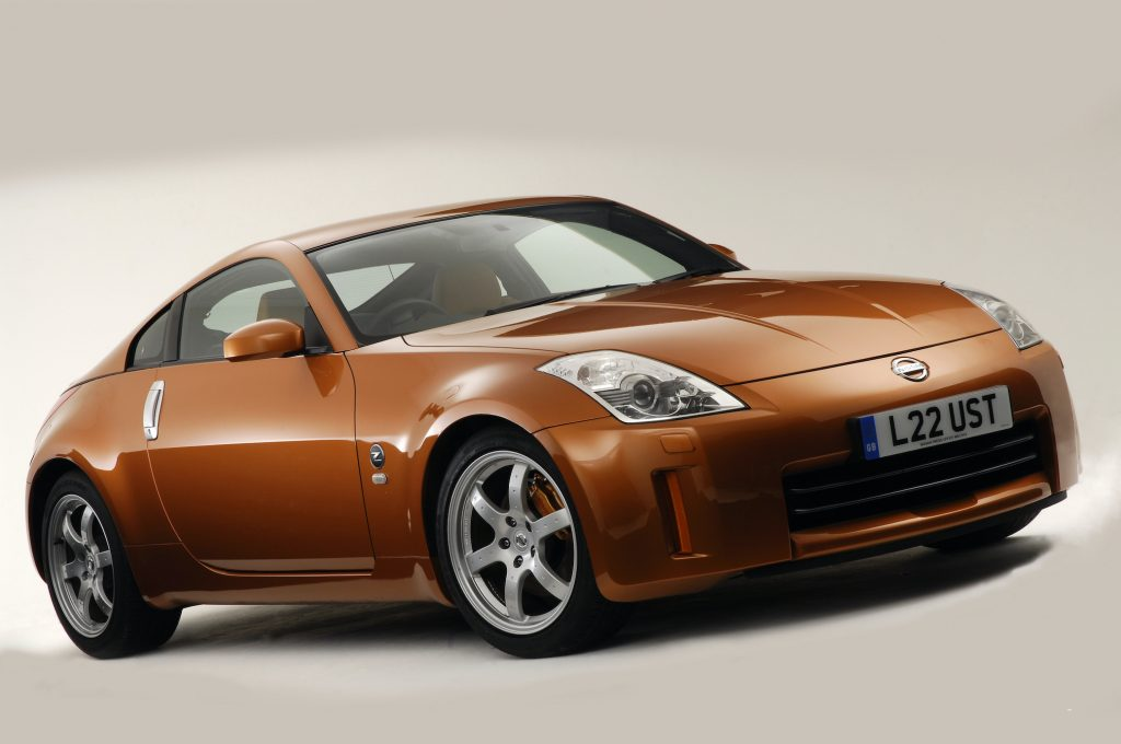 2006 Nissan 350Z in the National Motor Museum
