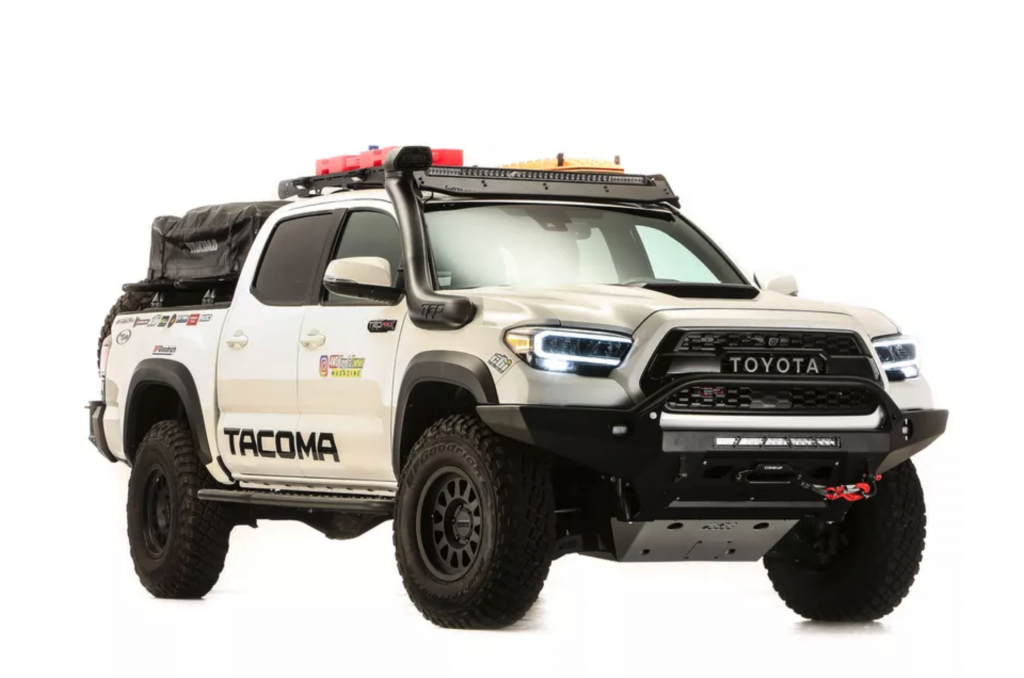 This overlanding concept shows how well a tacoma can replace an RV camper