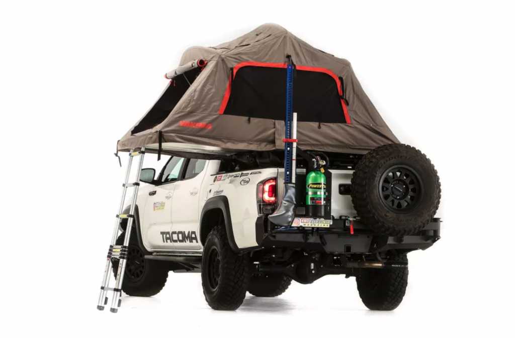 2021 Toyota Tacoma SEMA Overlanding Concept With Tent