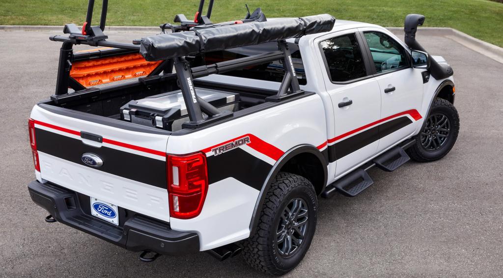 2021 Ford Ranger Raptor SEMA Concept