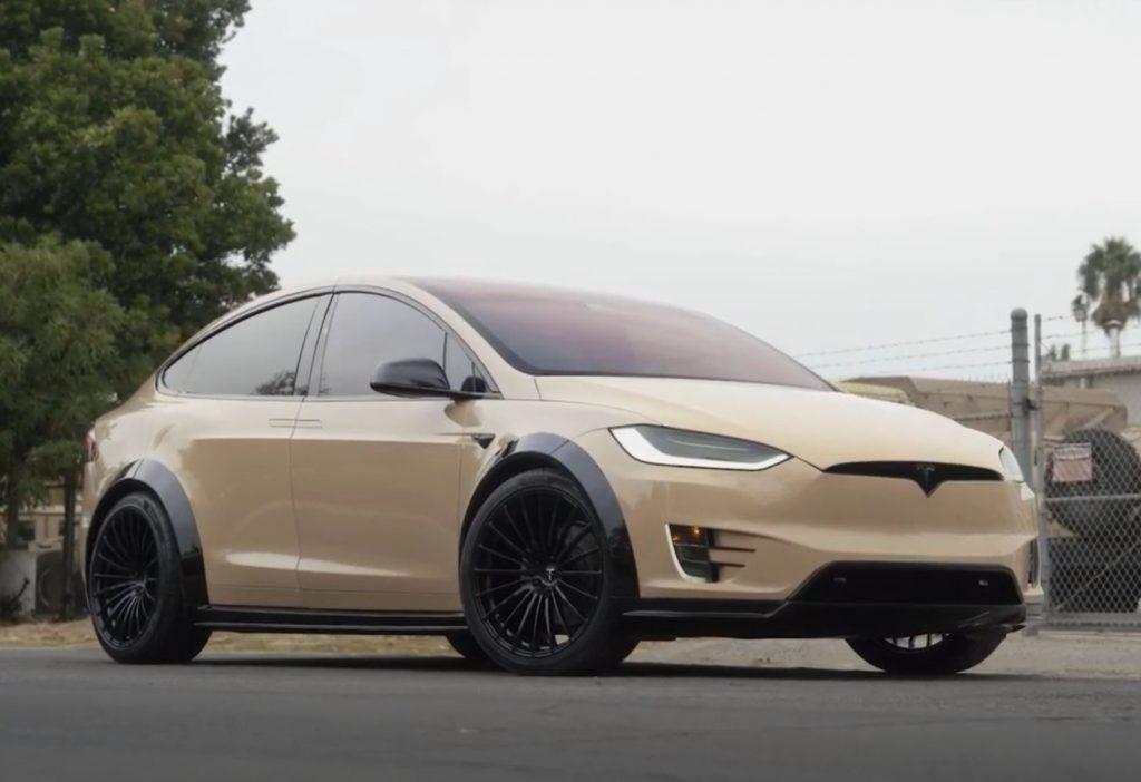 A desert tan T Sportline Model X T Largo Edition