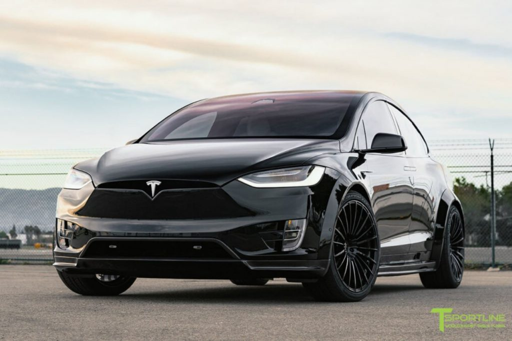 A black custom T Sportline Model X T Largo Edition. Number 13 of 20