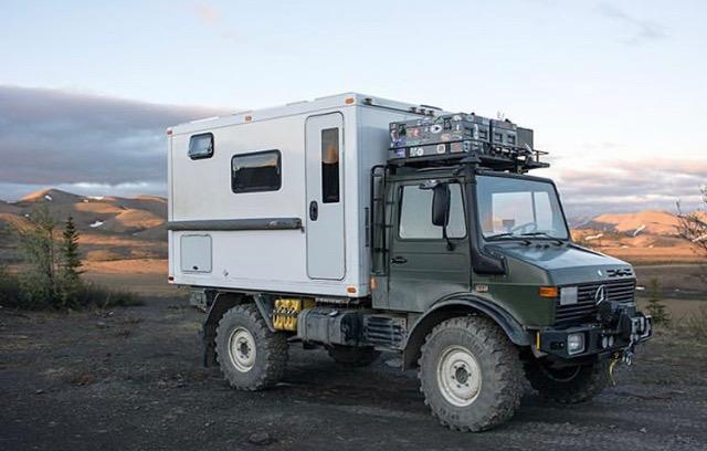 Total Composites camper truck