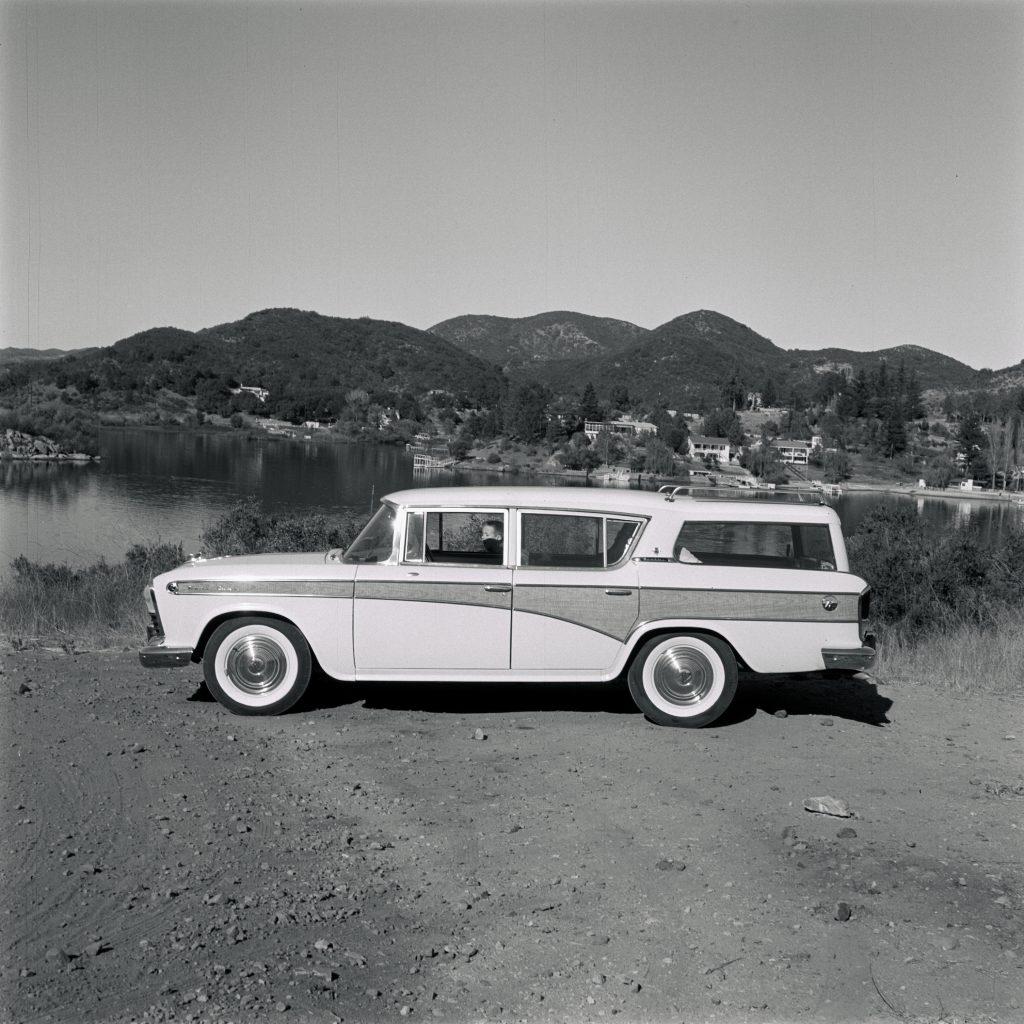 1957 AMC Rambler Custom Cross Country Station Wagon.