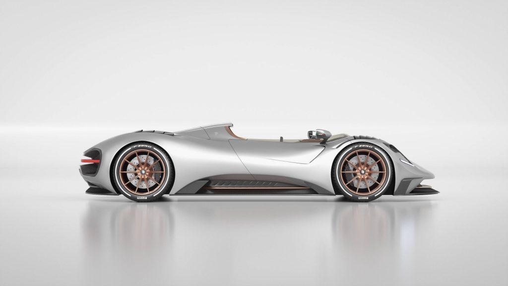 S1 Project Spyder built on C8 Corvette Chassis