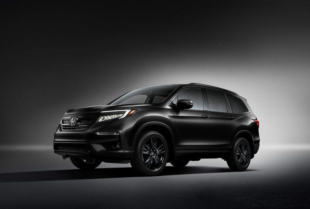 2021 Honda Pilot Black Edition