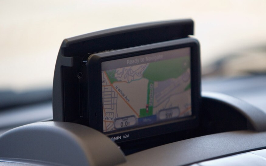 2009 Suzuki SX4 navigation