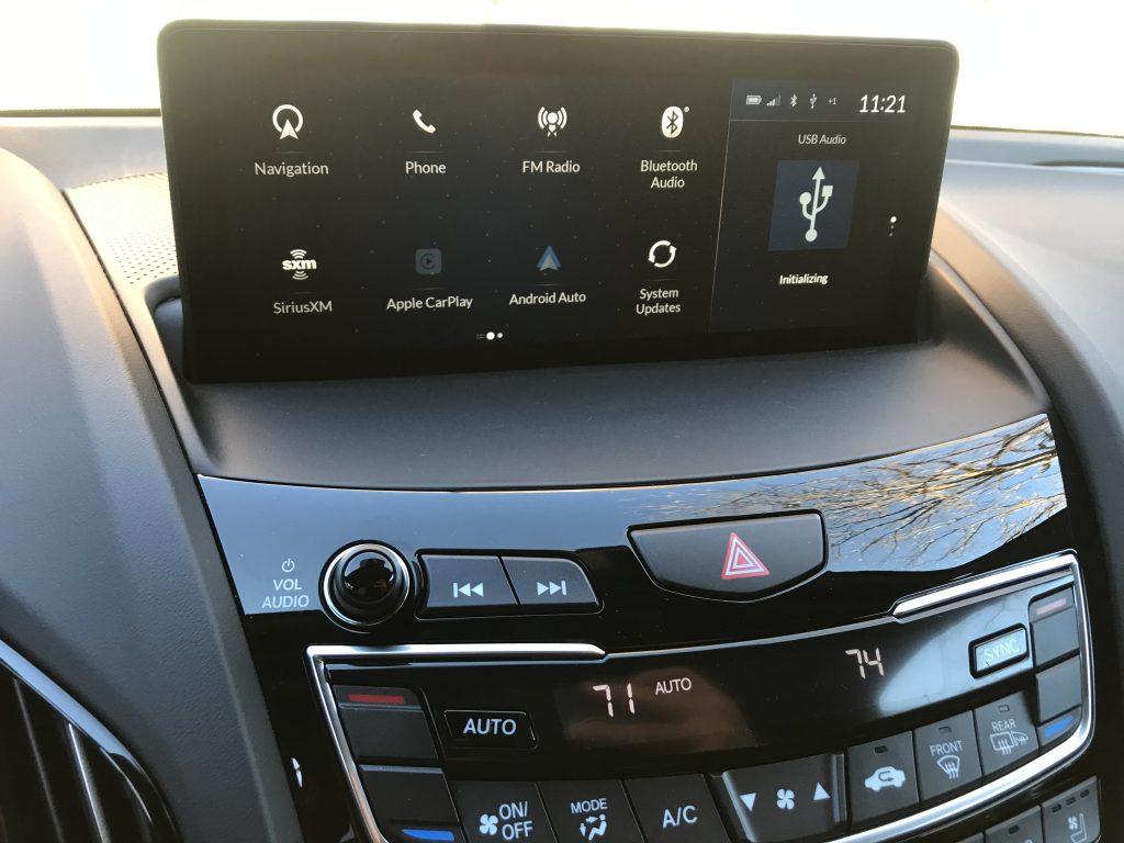 2021 Acura RDX Infotainment Screen