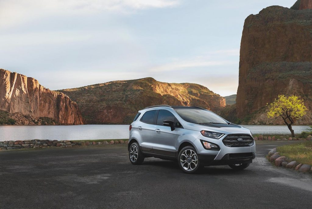 2021 Ford EcoSport parked