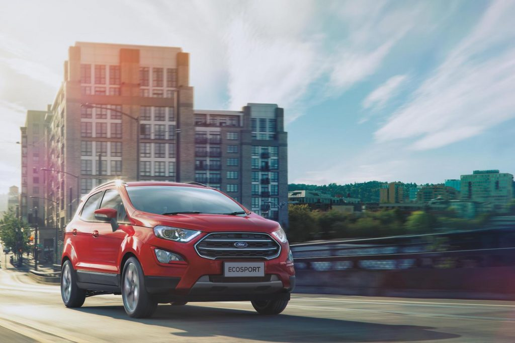 2021 Ford EcoSport driving