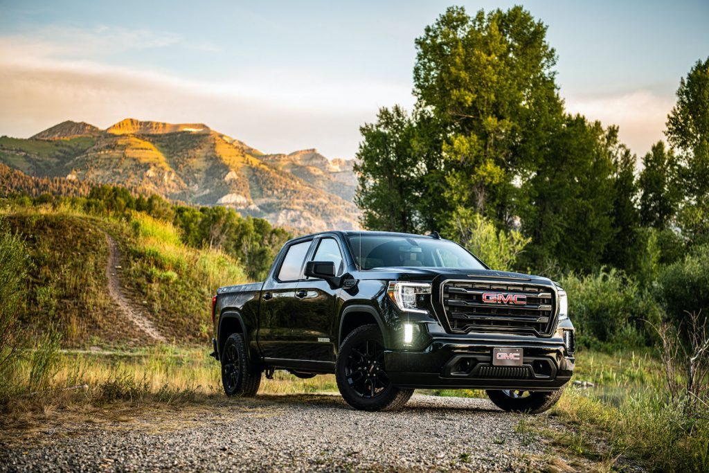 2021 GMC Sierra in the valley