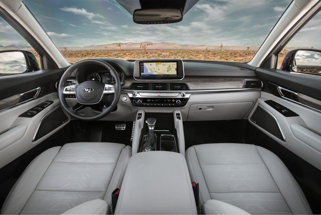2021 Kia Telluride interior