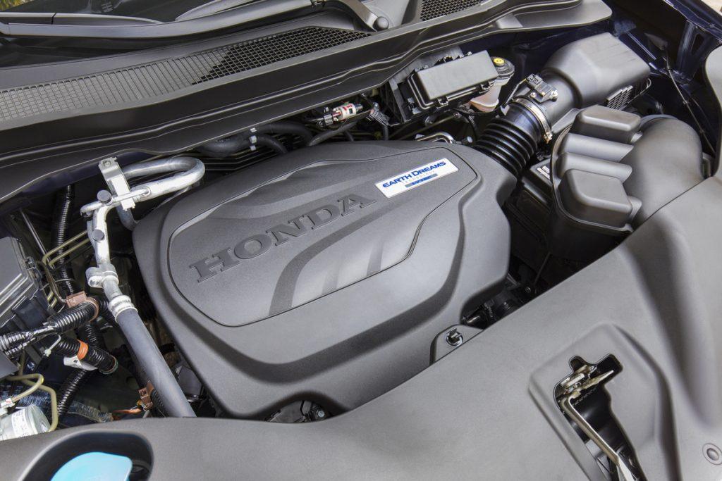 2021 Honda Pilot 3.5-liter engine