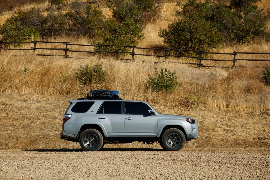 2021 Toyota 4Runner in a field
