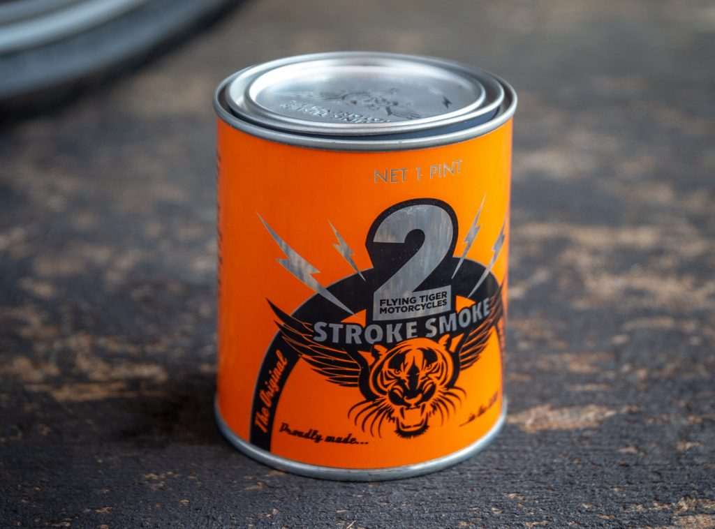Flying Tiger Moto 2-Stroke candle