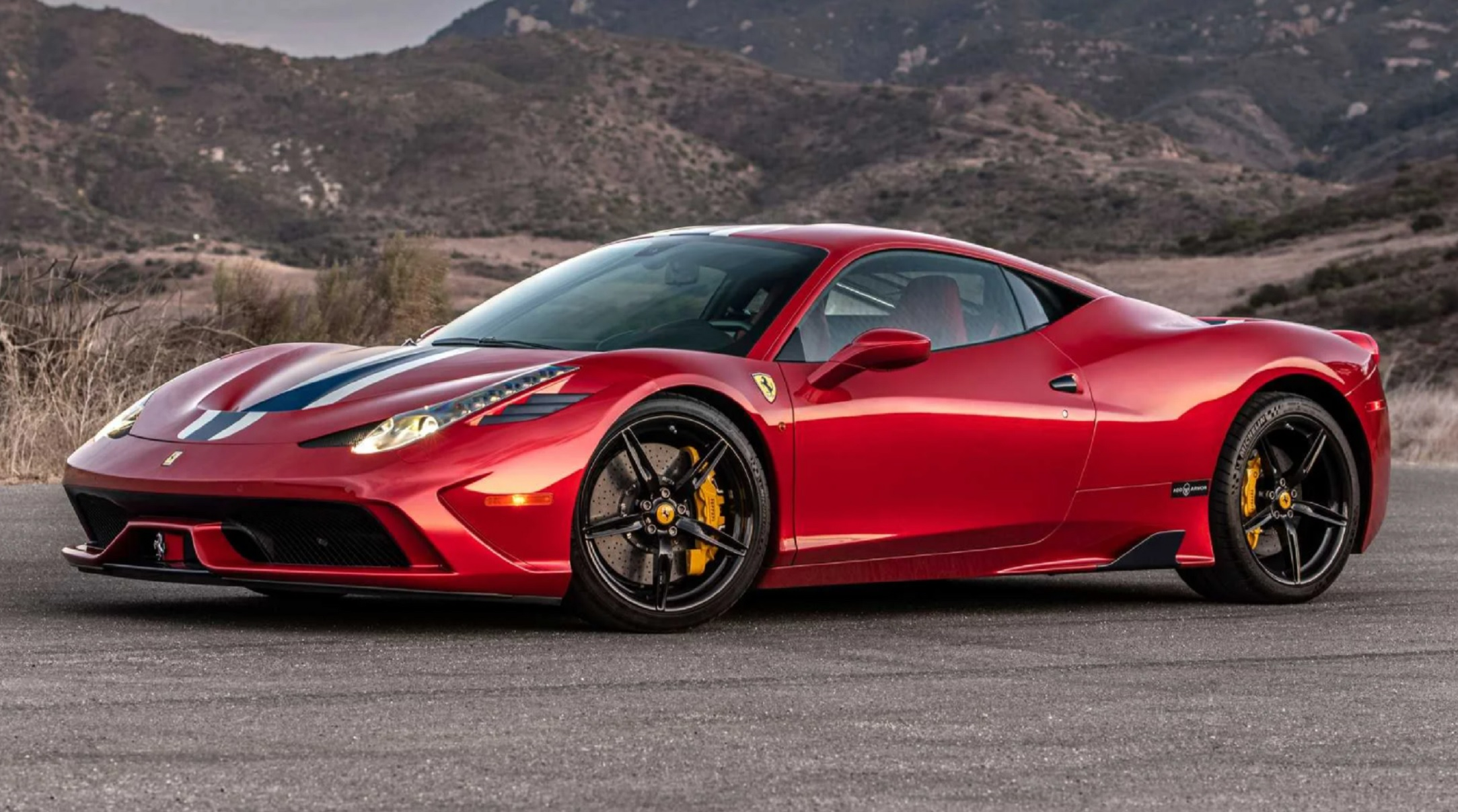 La Roux This Ferrari 458 Speciale Is Bulletproof