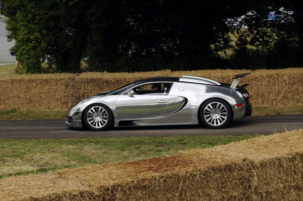 2009 Goodwood Festival of Speed Bugatti Veyron