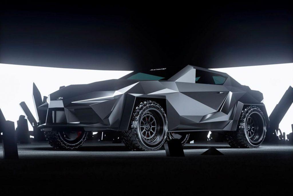 Cyber Supra SUV Concept