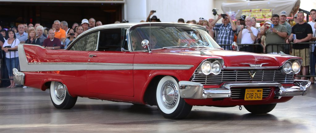 A red 1958 Plymouth Fury was used in the horror movie Christine.