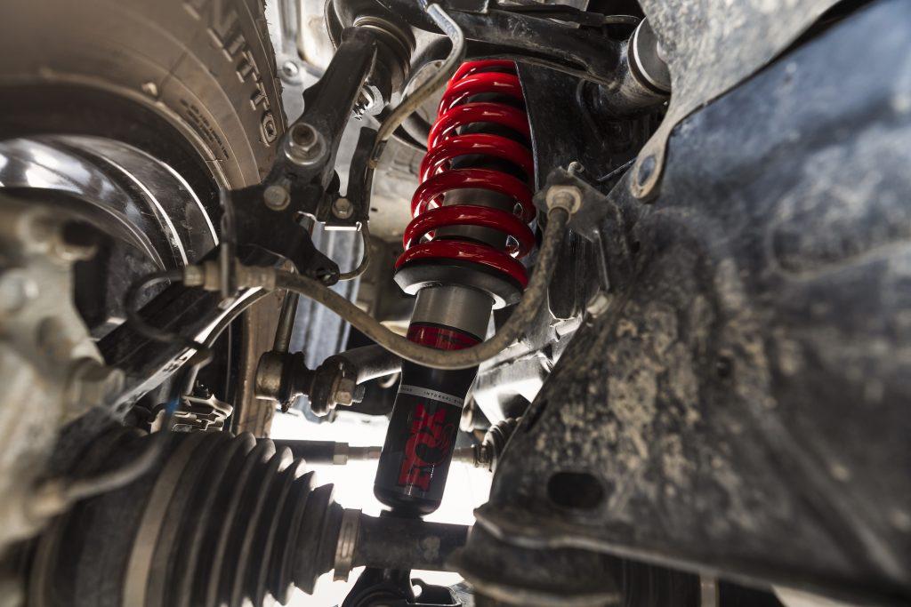 2021 Toyota 4Runner TRD Pro Fox Racing shocks