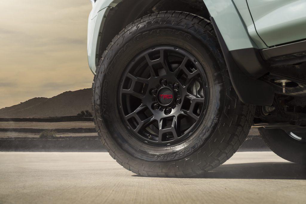 2021 Toyota 4Runner TRD Pro black wheels
