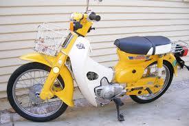 The original Honda Passport super cub bike