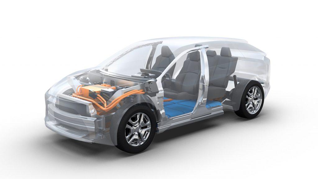 Toyota e-TNGA EV platform