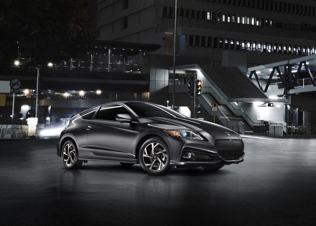 A digital image of a 2016 Honda CR-Z in a studio.