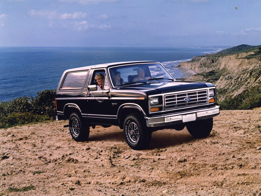 A 1983 Ford Bronco