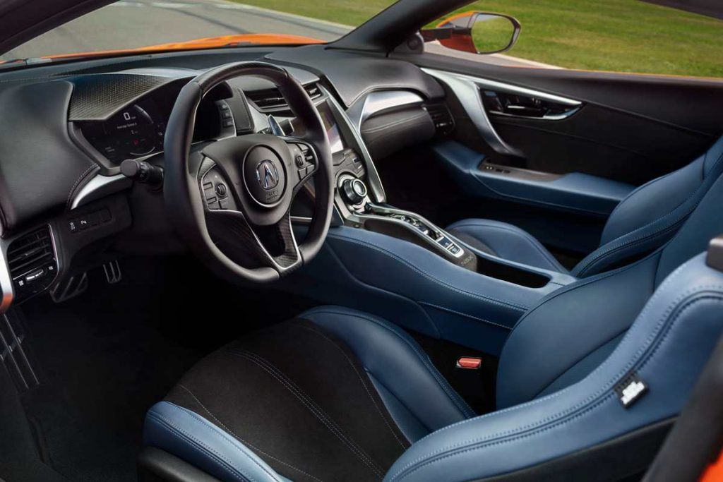 2020 Acura NSX interior