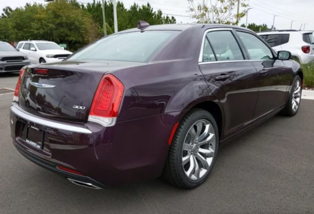 Missing chrome window trim on a 2020 Chrysler 300 Touring