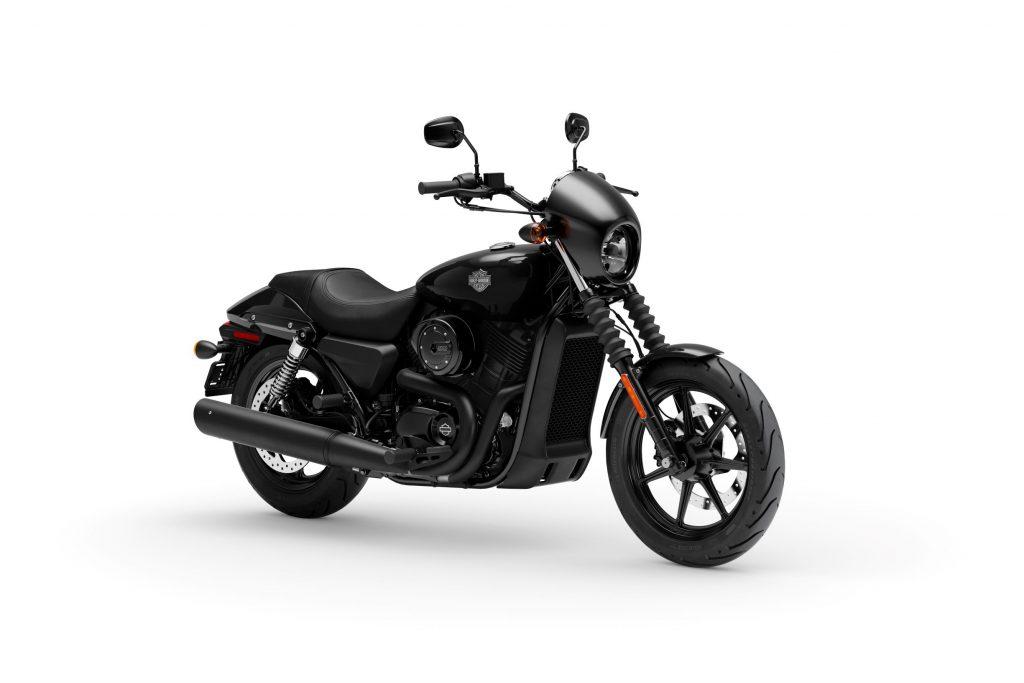 A black 2020 Harley-Davidson Street 500
