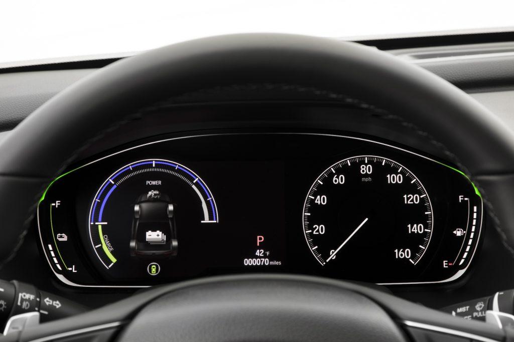 2020 Honda Accord Hybrid dashboard instrumentation